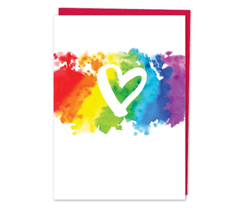 DESIGN WITH HEART CARD - LOVE AND FRIENDSHIP -Pride