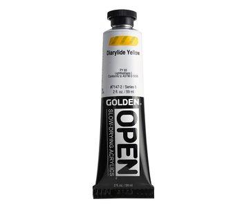 Golden Open 2Oz Diarylide Yellow Series 6 Acrylic