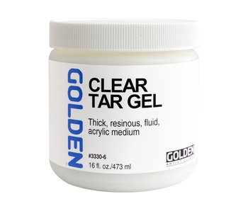 Golden Medium 16Oz Clear Tar Gel for Acrylic Painting