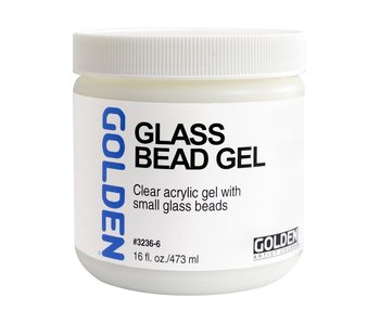 Golden Medium 16Oz Glass Bead Gel for Acrylic Painting