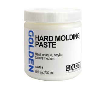 Golden Medium 8Oz Hard Molding Paste for Acrylic Painting
