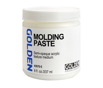 Golden Medium 8Oz Molding Paste for Acrylic Painting