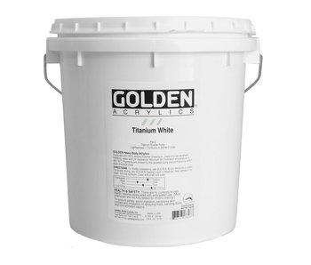 GOLDEN 128OZ TITANIUM WHITE GALLON HEAVY BODY