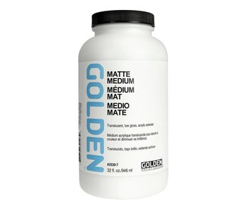 Golden Medium 32Oz Matte Medium Hb for Acrylic Painting