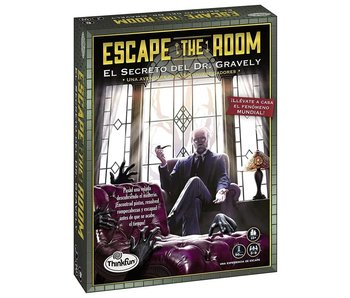 ESCAPE THE ROOM: SECRET OF DR. GRAVELY'S RETREAT - PARTY GAME FOR 3-8 PLAYERS