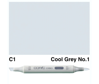 COPIC CIAO C1 COOL GREY 1