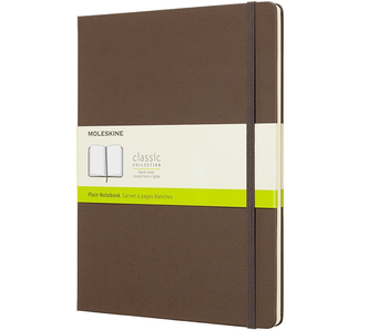 MOLESKINE CLASSIC COLLECTION HARD COVER PLAIN NOTEBOOK