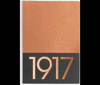LEUCHTTURM 1917 NOTEBOOK JOTTBOOK MEDIUM COPPER BLANK