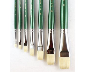 HJ SERIES 116 SHORT HANDLE BRISTLE BRUSH BRIGHT #2