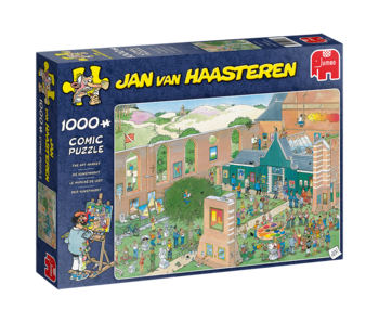 Jan Van Haasteren 1000 Piece The Art Market