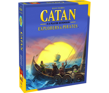 CATAN 5-6 PLAYER EXTENSION: EXPLORERS & PIRATES