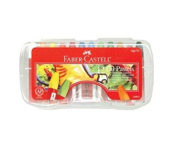 Faber Castell Oil Pastels 12Pk Set