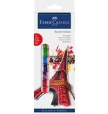 Faber-Castell Starter Kit Acrylic Colors  Box Of 12FABER-CASTELL STARTER KIT ACRYLIC COLORS  BOX OF 12