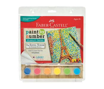Faber Castell Paint By Number Museum Series: Eiffel Tower