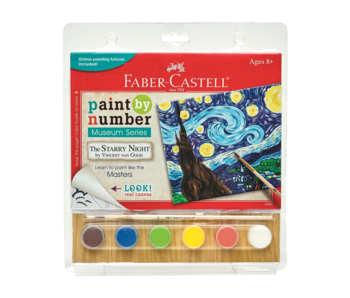 Faber Castell Paint By Number Museum Series: Starry Night
