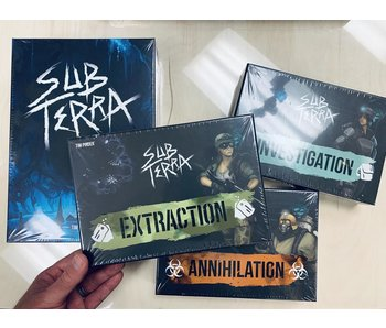 Sub Terra Promo - Core game AND 3 Expansions