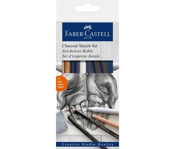 Faber Castell Charcoal Sketch Set