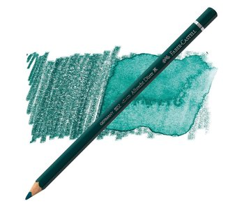 Faber Castell 158 Deep Cobalt Green Durer Watercolor Pencil