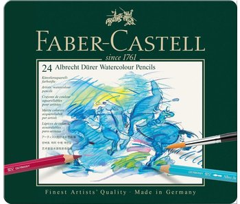 Faber Castell Set 24 Pack Durer Watercolor Pencil