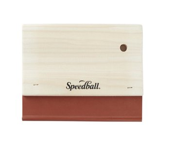"Speedball Fabric Squeegee 6"""