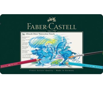 Faber Castell Set 36 Pack Durer Watercolor Pencil
