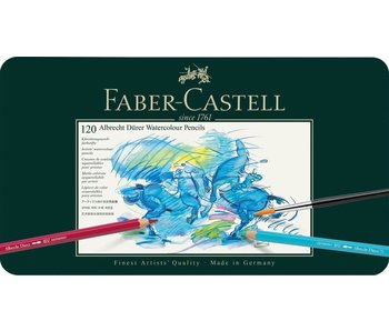 Faber Castell Set 120 Pack Durer Watercolor Pencil
