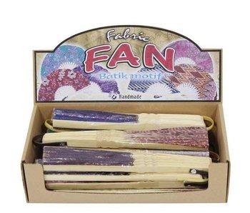 Bali Batik Hand Fans