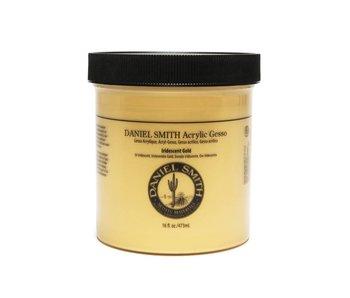 Daniel Smith Acrylic Medium 16oz Gesso Iridescent Gold