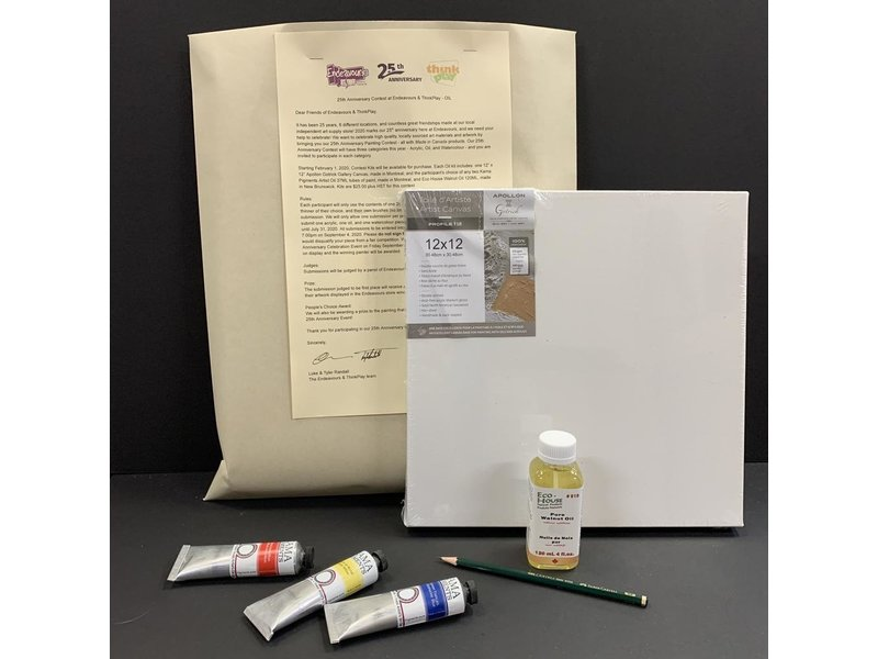 25TH ANNIVERSARY CONTEST KIT - OIL