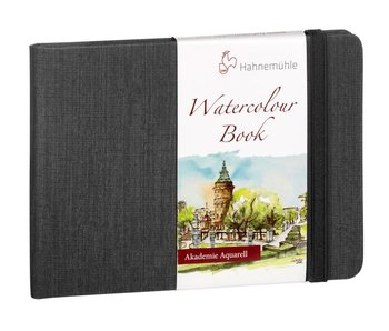 Watercolour Book 200gsm Hardbound 30 sheet/60 page book, landscape A6