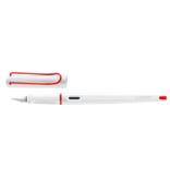 Lamy Joy Calligraphy Pen White With Red Clip 1.9mm Nib