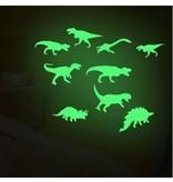 Dinosaur Night - Glow in the dark wall stickers