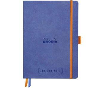 "Rhodia Softcover 5.5""X8.5"" Goalbook Blue Sapphire"