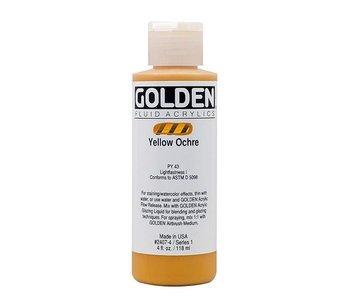 GOLDEN 4OZ FLUID YELLOW OCHRE SERIES 1