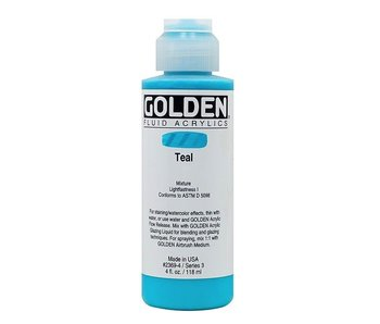 GOLDEN 4OZ FLUID TEAL SERIES 3