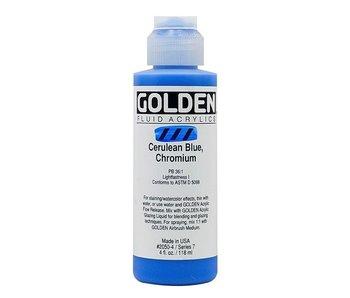 GOLDEN 4OZ FLUID CERULEAN BLUE CHROMIUM SERIES 7