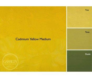 GAMBLIN ARTIST'S OIL COLORS 37ML CADMIUM YELLOW MEDIUM