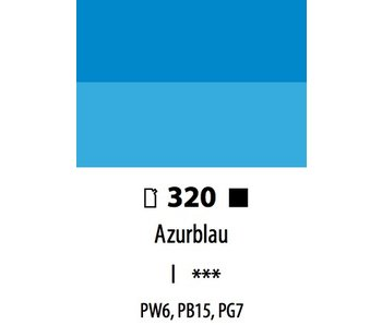 ABSTRACT ACRYLIC 120ML BAG AZURBLAU