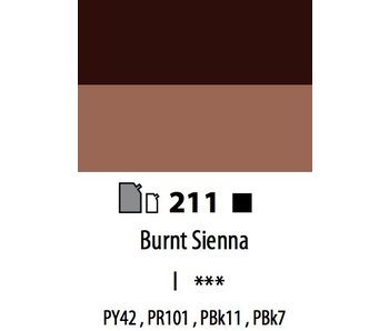 ABSTRACT ACRYLIC 120ML BAG BURNT SIENNA