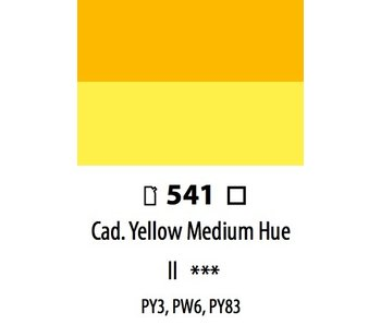 ABSTRACT ACRYLIC 120ML BAG CADMIUM YELLOW MEDIUM HUE