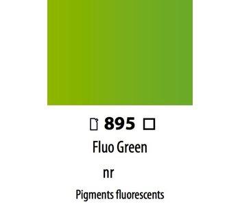 ABSTRACT ACRYLIC 120ML BAG FLUORESCENT GREEN