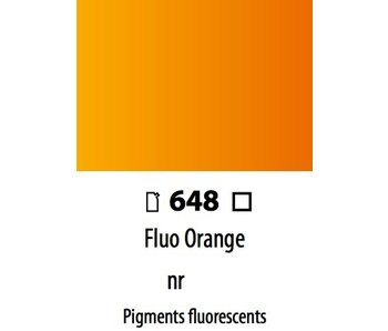 ABSTRACT ACRYLIC 120ML BAG FLUORESCENT ORANGE