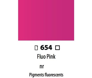 ABSTRACT ACRYLIC 120ML BAG FLUORESCENT PINK