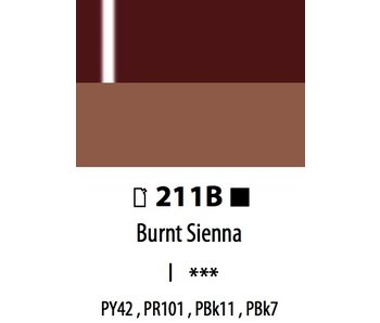ABSTRACT ACRYLIC 120ML BAG HIGH GLOSS BURNT SIENNA