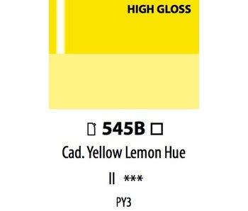 ABSTRACT ACRYLIC 120ML BAG HIGH GLOSS CADMIUM YELLOW LEMON HUE
