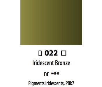 ABSTRACT ACRYLIC 120ML BAG IRIDESCENT BRONZE