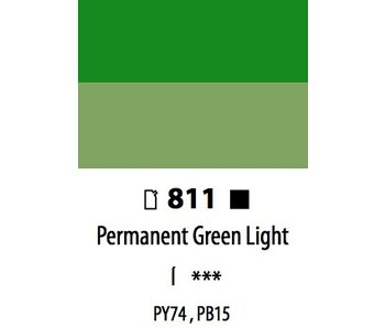 ABSTRACT ACRYLIC 120ML BAG PERMANENT GREEN LIGHT