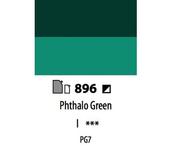ABSTRACT ACRYLIC 120ML BAG PHTHALO GREEN