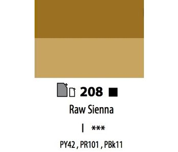 ABSTRACT ACRYLIC 120ML BAG RAW SIENNA