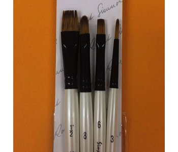 SIMPLY SIMMONS RAKE IT IN BRUSH SET